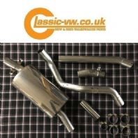 Mk1 Golf Milltek Classic Stainless Steel Exhaust System MCXVW208 Non Resonated